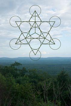 Heilige Geometrie & Natur 38 x 12 Digital von MelissaAnneDesigns