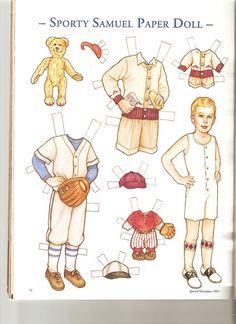 Påklædningsdukke - Dreng