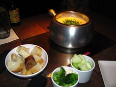 The Melting Pot Bacon and Brie Fondue