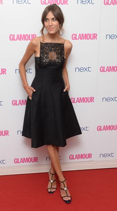 Alexa Chung at the Glamour Women of the Year Awards