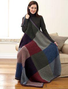 Yarnspirations.com - Bernat All Colors Afghan - Patterns  | Yarnspirations