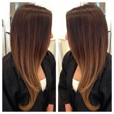 honey dipped ombre this is what i want :(