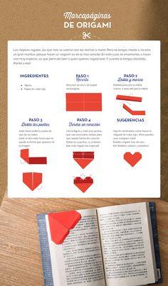 #origami #marcapáginas #DIY