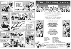 scan0002 1 The Comic Book Wedding Program   This is just awesomeness...
