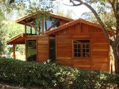 A casa pré fabricada de madeira está sujeita a incêndios na mesma proporção de uma casa de alvenaria