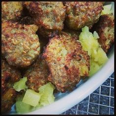 Per pinner: Pair these tasty meatballs with your favorite veggies for a quick, nutritious meal.