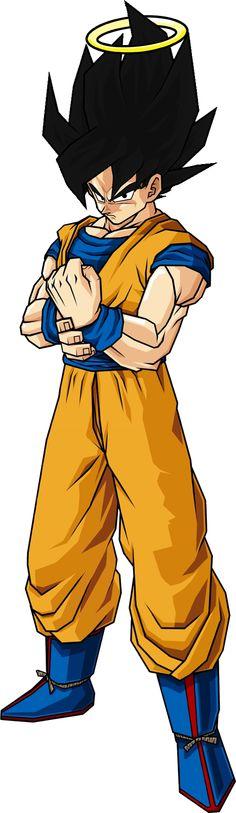 Goku Black-Haired