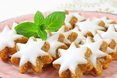 Photo about Cinnamon star cookies glazed with frosting. Image of cinnamon, star, swiss - 34750155 Star Cookies, Brownie Cookies, Cookie Glaze, Snack, Frosting, Brownies, Waffles, Cinnamon, Bbq