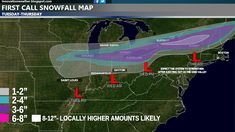 First Call map indicating the possible trajectory of Low Pressure along with the snowfall accumulation outlook.  Keep in mind, this could alter depending upon tonight's model runs to whether or not it will remain the same or shift to the North or South.  Read about the details in my updated blog entry for Innovation Weather.  http://www.bubblews.com/news/2581950-first-call-impending-winter-storm-system-heading-for-the-great-lakes-northeast-and-new-england-region-through-thursday-pm