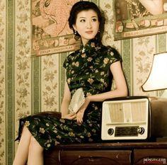 东方神韵:中国旗袍【组图】 - 石庆 - 石庆的博客