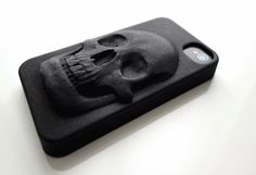 3-D Printed Skull iPhone Cases