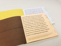 Artisanship | Communication Z-Bine Publication by Melvin Tan, via Behance