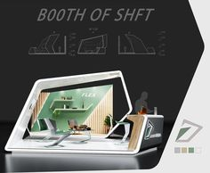 Exhibition stand TH on Behance