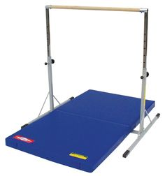 Gymnastics Mini Bar great for gym and at home use. Accommodates up to a level 4 gymnast.