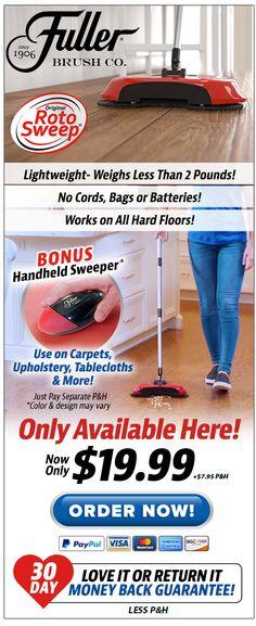cdaf88687 Home | Roto Sweep™ by Fuller Brush Co® | Official Website Fuller Brush,