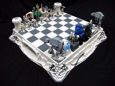 Star Wars: The Empire Strikes Back LEGO Chess Set