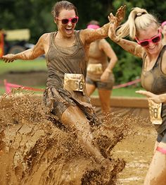 #MDMudRun - The Dirty Girl Mud Run is going to be on August 22, 2015 at High Point Farm 23730 Frederick Rd, Clarksburg, MD 20871, less than an hour outside Baltimore and DC.  @GoDirtyGirl