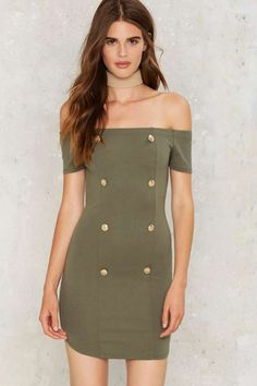 You Know the Drill Bodycon Dress | Shop Clothes at Nasty Gal!