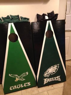 Corn hole Philadelphia Eagles | Corn Hole Boards | Pinterest | Corn ...