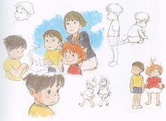 Ghibli - Ponyo sketching