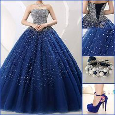 6 Quinceanera Dresses Ideas To Look Like a Princess - 15 Anos Fiesta Ball Gown Dresses, 15 Dresses, Dress Outfits, Evening Dresses, Formal Dresses, Banquet Dresses, Dresses Online, Sweet 16 Dresses, Pretty Dresses