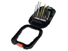 Black and Decker A7186-XJ New Family Accessory Drill Bit Set 16pc