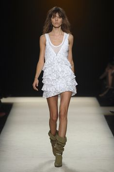 Isabel Marant     Western Boots would look better!
