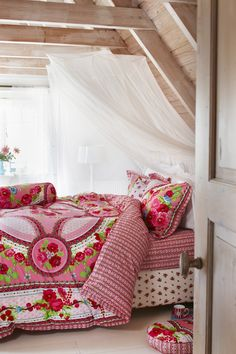 PiP Fruity Flowers duvet cover pink