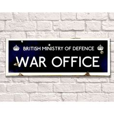 War Office Signs Reproduction That Was Used In Great Britain WWII • Danger • Highly Stressed • Old Fashioned Antique Metal Sign Company Smithers of Stamford