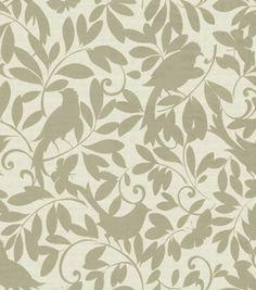 Upholstery Fabric-Waverly Birdsong Cloud & Upholstery Fabric at Joann.com