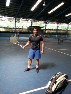 Feels great to be back to the #tennis courts.  Genial estar de vuelta a las canchas de #tenis. #CostaRica