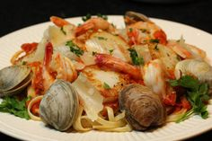 Seafood Pasta with Vodka Sauce