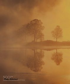 Misty sunrise by RuneAskeland via http://ift.tt/2noZejK