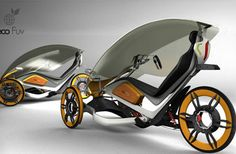 Eco Fuv – Extremely Modified Urban Bicycle