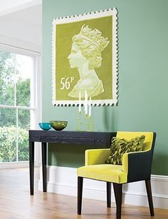 stamp rug... but it looks cool on a wall too!