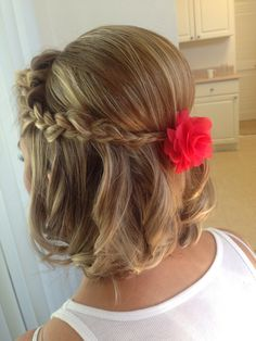 Short hair updo by Diana Pena Follow me on Instagram makeupandhairbydiana