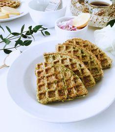 Savoury Lentil Waffles by kesarlily.com