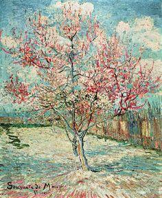 Vincent Van Gogh - Blühender Pfirsichbaum - jetzt bestellen auf kunst-fuer-alle.de