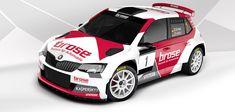 Rallye Design - specialista na polep závodních vozů - Brose Motorsport 2017 Skoda Fabia, Rally Car, Car Wrap, Sport, Motor, Wraps, Friends, Design, Style
