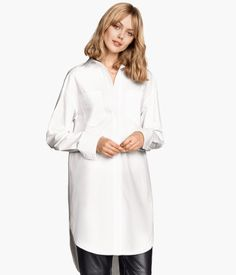Oversized cotton shirt €24,99
