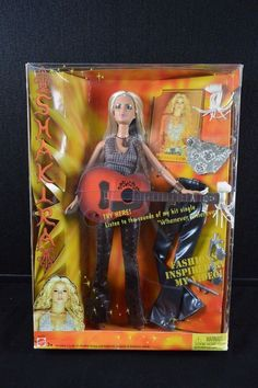 "[NEW/Sealed] Mattel Barbie Shakira 12"" Doll w/ Guitar, Accessories & Card #3923 #Mattel #DollswithClothingAccessories"