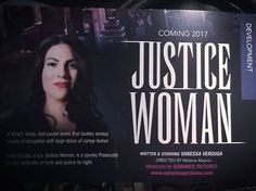 So this is actually happening - #JusticeWoman is going into development with our pilot and our director is Melanie Mayron - who has directed TV shows like Grace & Frankie, Jane the Virgin, Pretty Little Liars, Switched at Birth, The Fosters, Army Wives, Drop Dead Diva, 90210, Lipstick Jungle, Thirty Something and so much more - check out her IMDB --> http://www.imdb.com/name/nm0563039/