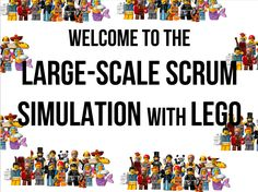 This simulation is a scaled variant of the famous #lego4scrum that is well-described in the recently self-published book: Below is my attempt of