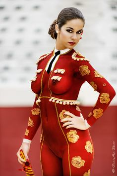 Wow what a masterpiece! I would love a body paint job like that!