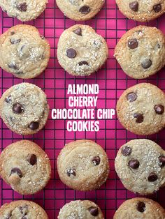 Kendra's Vanilla-Cherry Chocolate Chip Cookies Recipe — Dishmaps