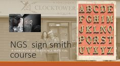 Sign Painter Courses NGS Sign Smith Handbook 2014.1    Download our PDG intro course guide.