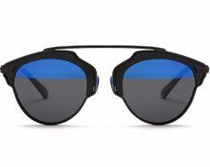 Štýlové polarizované slnečné okuliare - čierno-modré