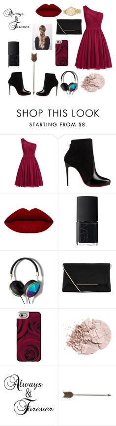 """""""Red Roses"""" by musix004 ❤ liked on Polyvore featuring interior, interiors, interior design, home, home decor, interior decorating, Christian Louboutin, NARS Cosmetics, Abercrombie & Fitch and Lanvin"""