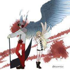 君が笑うまで Angel of Slaughter Fanart Ray and Zack