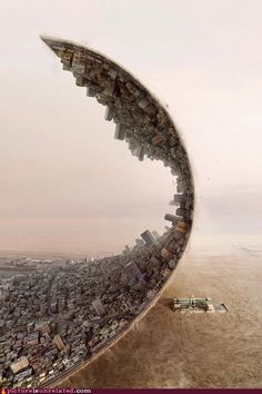 surrealism! - Looks like the movie Inception come to life ;)